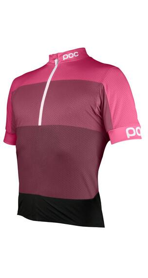 POC W's Fondo Half Zip Jersey Sulfate Multi Pink
